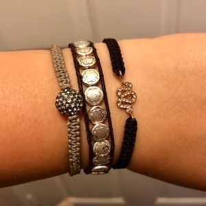 Stella & Dot Jewelry - Stella & Dot Stacking Blacelets (Set of 3)